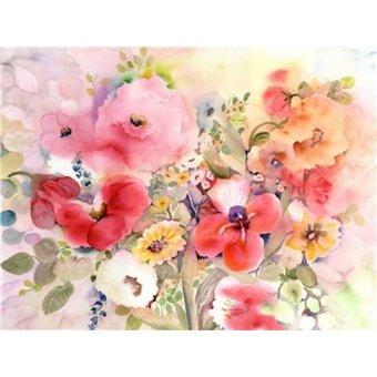 Tableaux de Fleurs - Tableau - my cup runneth over- - Pushparaj, Neela