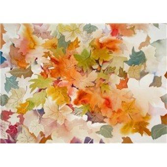 Tableaux de Fleurs - Tableau - october song- - Pushparaj, Neela