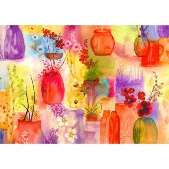 Tableaux de Fleurs - Tableau - ala Ikebana- - Pushparaj, Neela