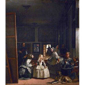 - Tableau -Las meninas, familia de Felipe IV- - Velazquez, Diego de Silva