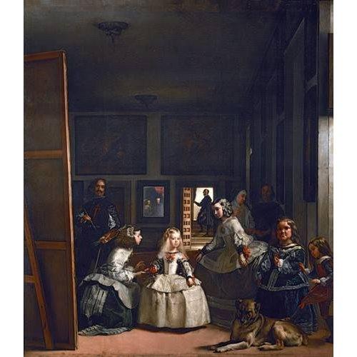 Tableau -Las meninas, familia de Felipe IV-