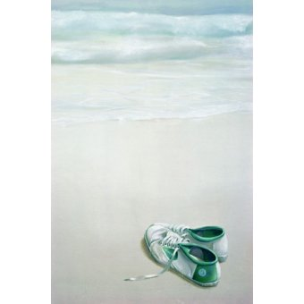 Tableau -Gym Shoes on Beach-