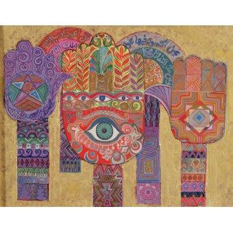 Tableaux orientales - Tableau - Protective Amulets, 1992- - Shawa, Laila