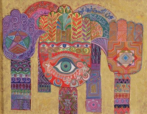 tableaux-orientales - Tableau - Protective Amulets, 1992- - Shawa, Laila