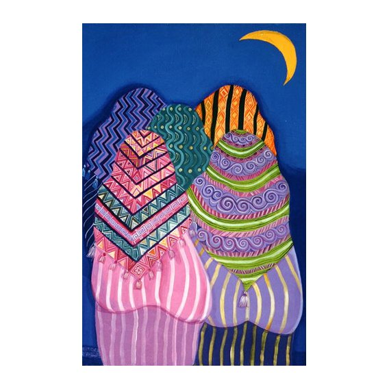 Tableau - Bottoms in the Moonlight, 1990 -