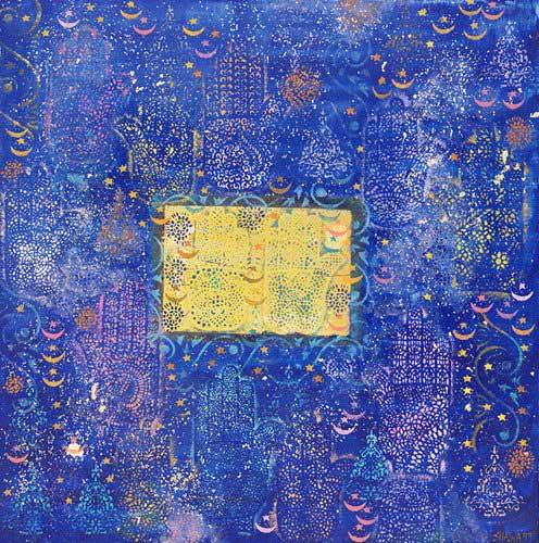 tableaux-orientales - Tableau - Night of Destiny, 1990 - - Shawa, Laila