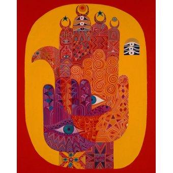 Tableaux orientales - Tableau - Amulets, 1992- - Shawa, Laila