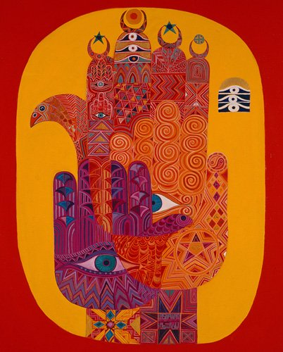 tableaux-orientales - Tableau - Amulets, 1992- - Shawa, Laila