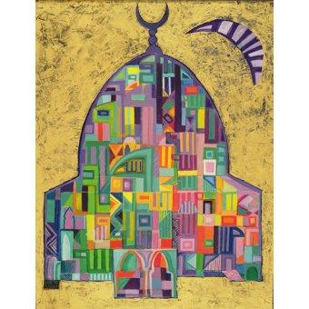 Tableaux orientales - Tableau - The House of God II, 1993-94- - Shawa, Laila