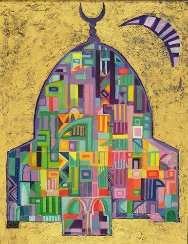 tableaux-orientales - Tableau - The House of God II, 1993-94- - Shawa, Laila