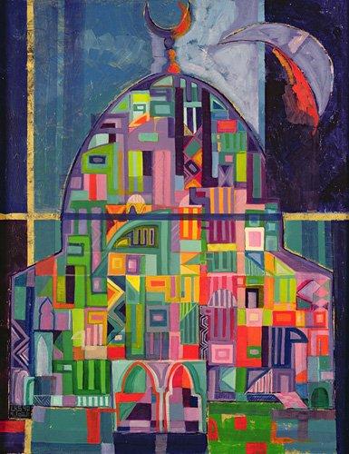 tableaux-orientales - Tableau - The House of God, 1993-94- - Shawa, Laila