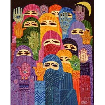 Tableaux orientales - Tableau - The Hands of Fatima, 1989- - Shawa, Laila