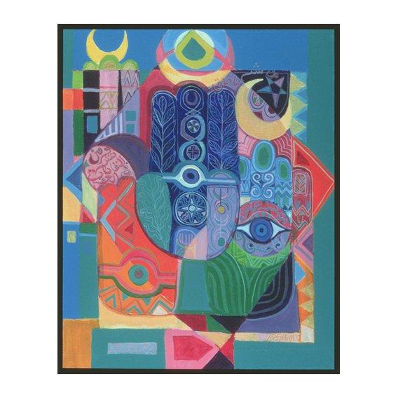 Tableau - Hands as Amulets I, 1992-