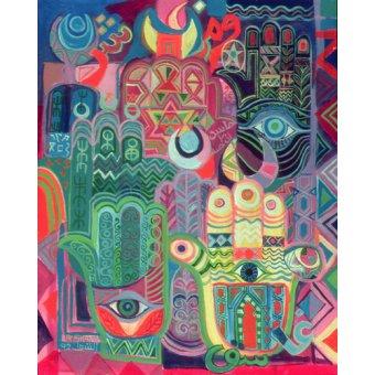 Tableaux orientales - Tableau - Hands as Amulets II, 1992- - Shawa, Laila