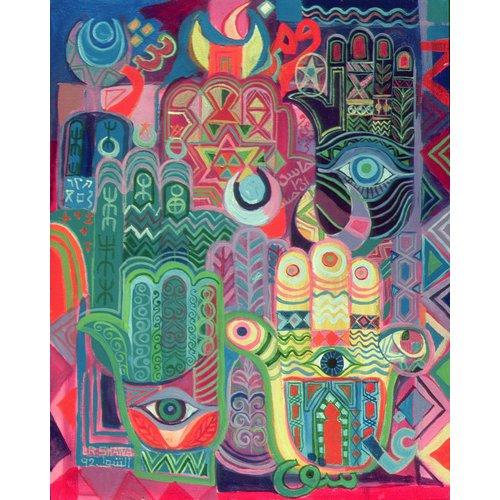 Tableau - Hands as Amulets II, 1992-