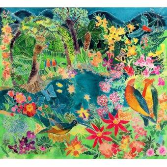 Tableaux de paysages marins - Tableau - Caribbean Jungle, 1993- - Simon, Hilary