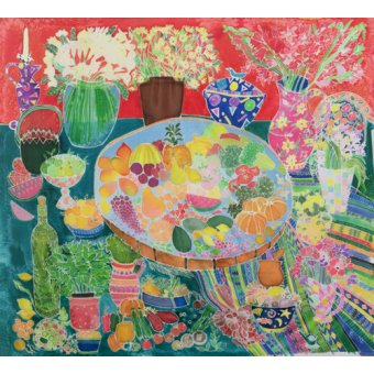 Tableaux nature morte - Tableau - Guatemalan Table, 1995- - Simon, Hilary