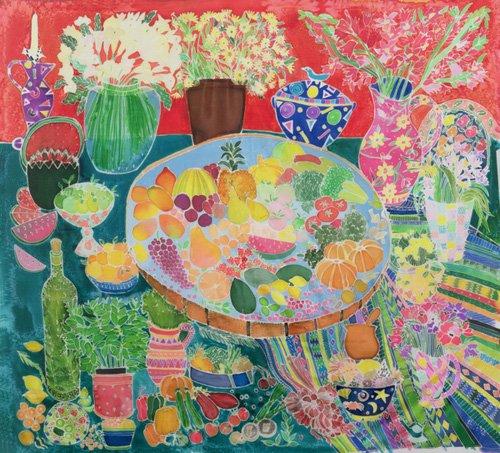 tableaux-pour-salon - Tableau - Guatemalan Table, 1995- - Simon, Hilary