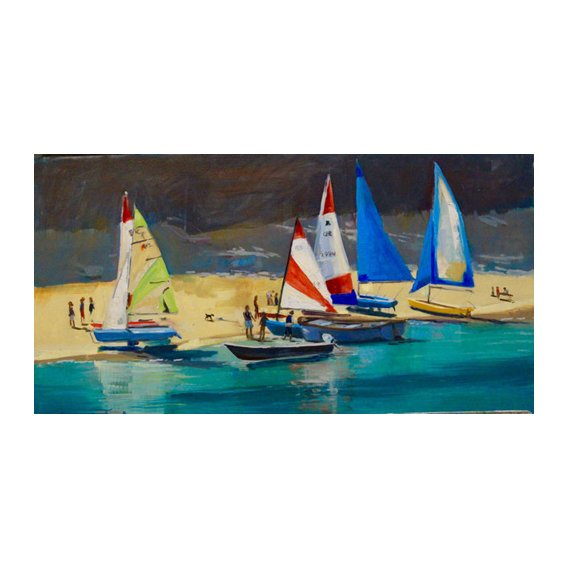 Tableau - Salcombe Smalls Cove Dinghies -