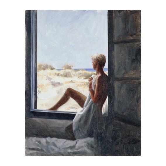 Tableau - Blue Sea Dream (oil on canvas board) -