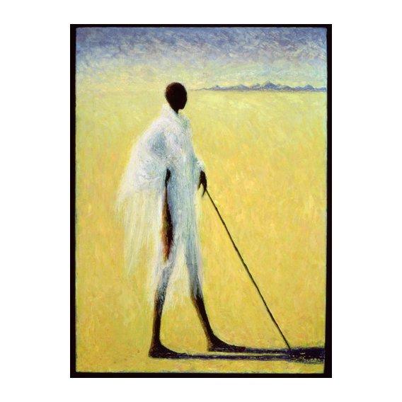Tableau - Long Shadow, 1993 (oil on canvas) -