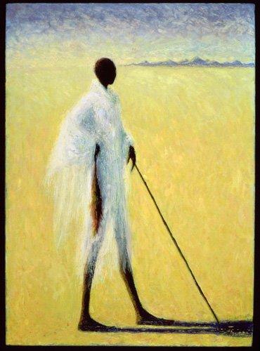 tableaux-orientales - Tableau - Long Shadow, 1993 (oil on canvas) - - Willis, Tilly