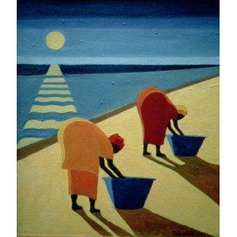 Tableaux orientales - Tableau - Beach Bums, 1997 (oil on canvas) - - Willis, Tilly