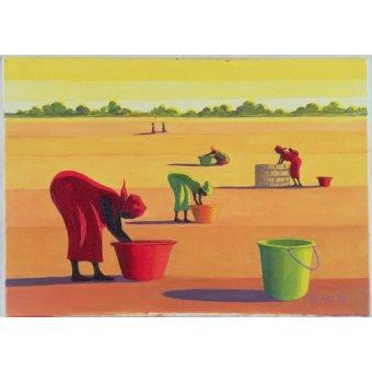Tableaux orientales - Tableau - Beyond the Pale, 1998 (oil on canvas) - - Willis, Tilly