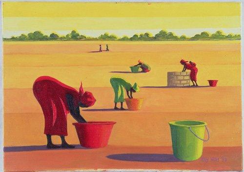 tableaux-orientales - Tableau - Beyond the Pale, 1998 (oil on canvas) - - Willis, Tilly