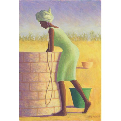 Tableau - Water from the Well, 1999 (oil on canvas)-