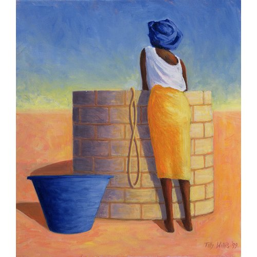 Tableau - Well Woman, 1999 (oil on canvas)-