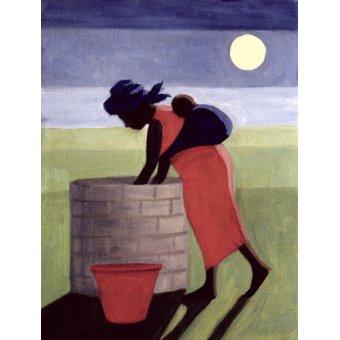 Tableaux orientales - Tableau - Mama (oil on canvas) - - Willis, Tilly