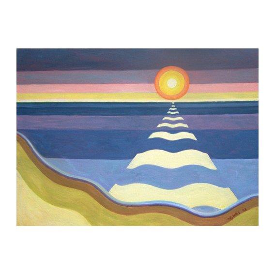 Tableau - Evening Sun, 2003 (oil on canvas) -