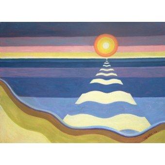 Tableaux orientales - Tableau - Evening Sun, 2003 (oil on canvas) - - Willis, Tilly