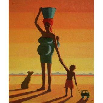 Tableaux orientales - Tableau - Matriarch, 2004 (oil on canvas) - - Willis, Tilly