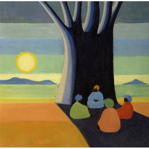 Tableau - The Meeting, 2005 (oil on canvas) -
