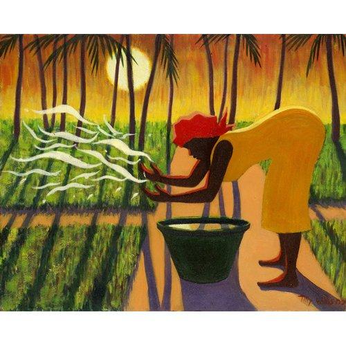 Tableau - The Spirit Garden, 2007 (oil on canvas) -