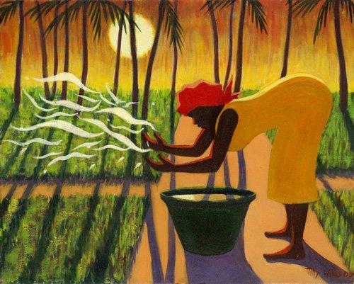 tableaux-orientales - Tableau - The Spirit Garden, 2007 (oil on canvas) - - Willis, Tilly