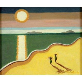 Tableau - Evening Sun,2010 (oil on canvas) -