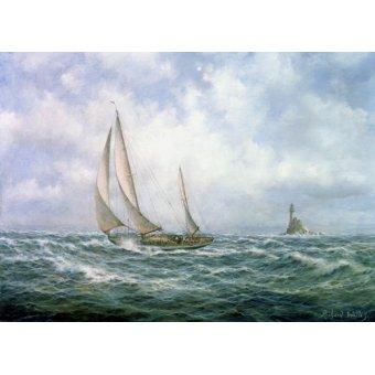 Tableaux de paysages marins - Tableau - Fastnet Abeam - - Willis, RIchard
