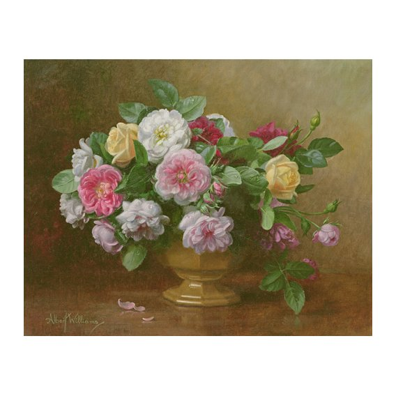 Tableau - AB.119.2 A bowl of roses -