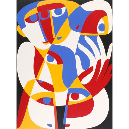 Tableau - Act of Toleration, 1989 (acrylic on board) -