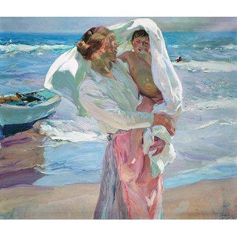 Tableau -À la sortie de la mer, 1915-