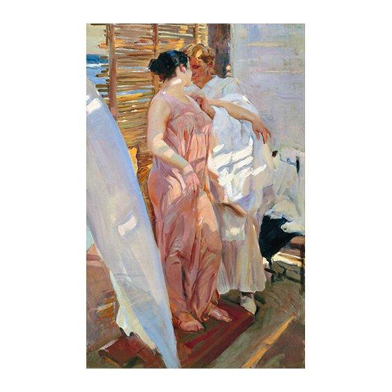 Tableau -La robe rose, 1916 -