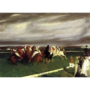 Tableaux de faune - Tableau -Polo at Lakewood- - Bellows, George
