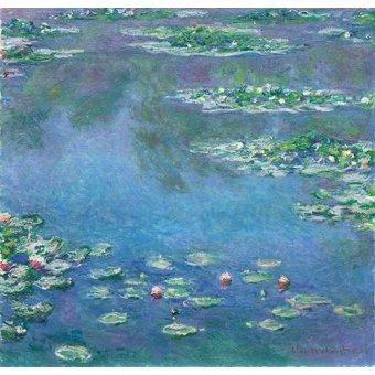 Tableaux de paysages - Tableau -Les Nymphéas- - Monet, Claude