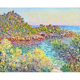 Tableaux de paysages marins - Tableau -Paysage près de Montecarlo- - Monet, Claude