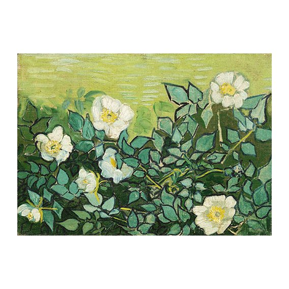Tableau -Roses sauvages-