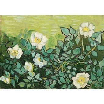 Tableaux de paysages - Tableau -Roses sauvages- - Van Gogh, Vincent
