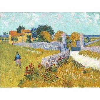 - Tableau -Ferme de Provence, 1888- - Van Gogh, Vincent